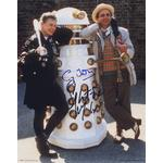 Sylvestor McCoy & Sy Town Signed 10x8 Photo