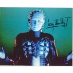 Doug Bradley Autograph Hellraiser Signed 8x10 Photo (0123)