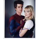 Andrew Garfield & Emma Stone Autographs Signed 10x8 Photo